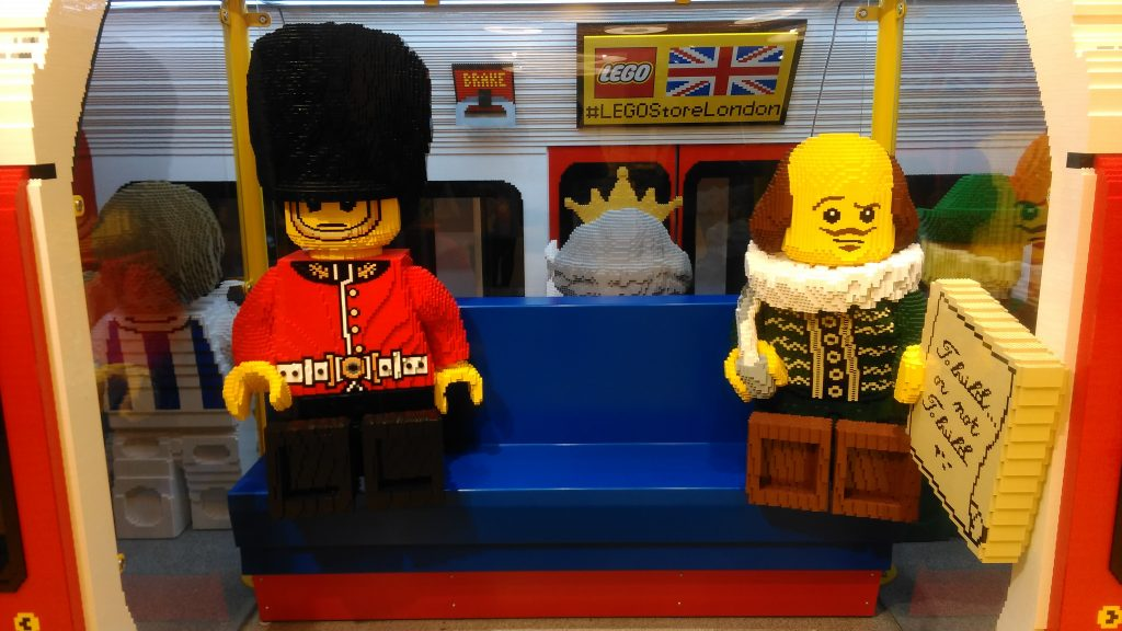Lego Store in Leicester Square